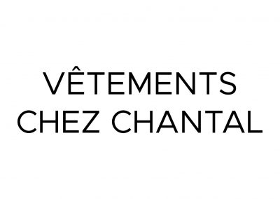 Vêtements Chez Chantal