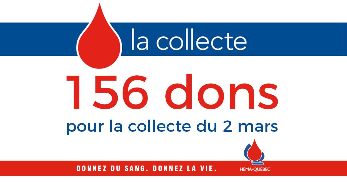 Carrefour Laplante : retour collecte de sang